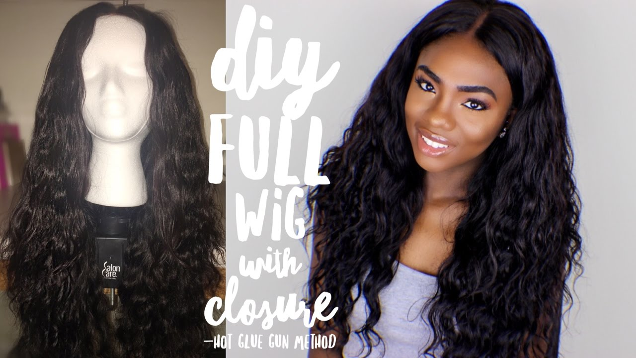 how to make a full lace wig tutorial