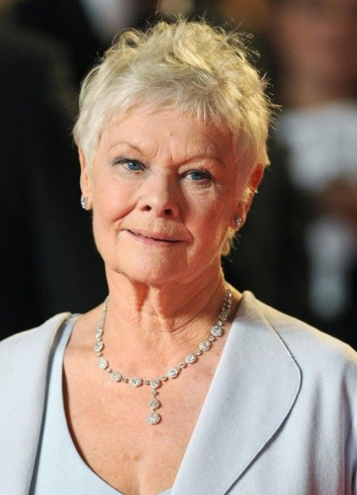 judi dench haircut tutorial