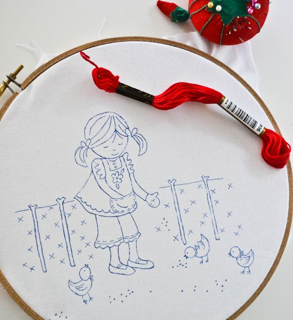 crewel embroidery stitches tutorial