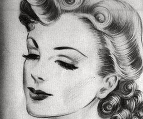 1940s hair tutorial for long hair
