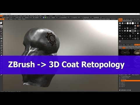 3d coat retopology tutorial