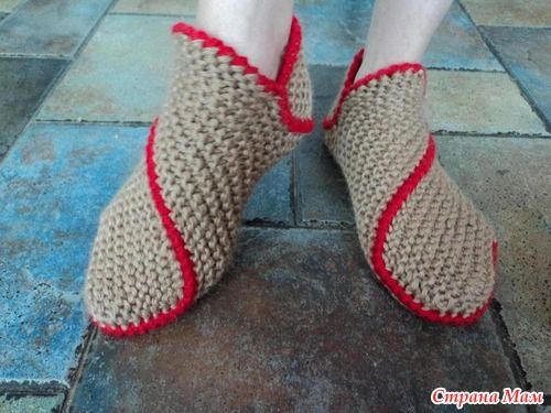 easy crochet slippers tutorial