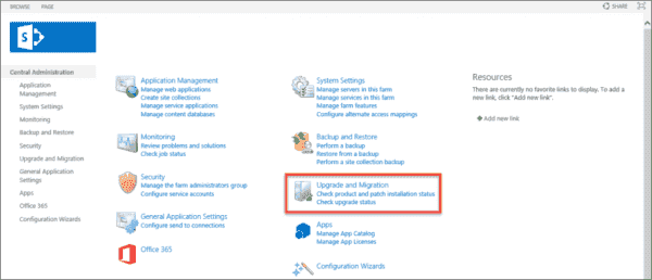 sharepoint 2010 central administration tutorial