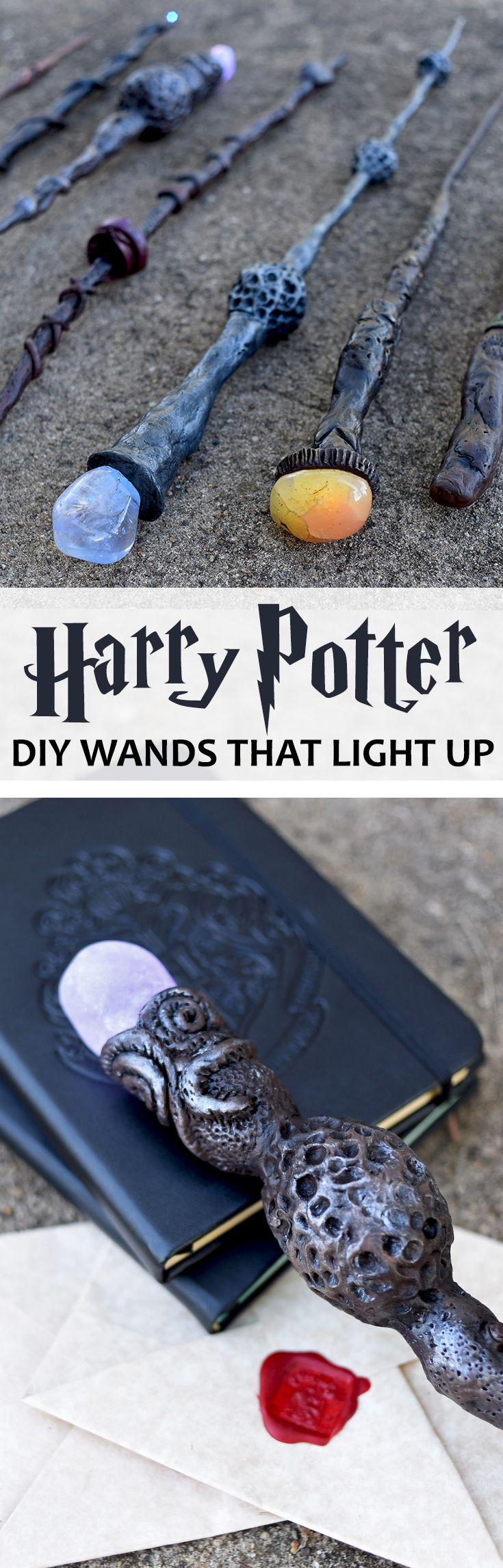 harry potter wand making tutorial